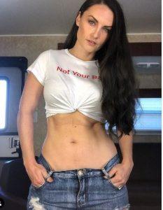 The body figure of Jennifer Wenger