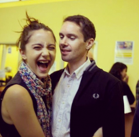 Alexa Nikolas and her ex-husband Mike Milosh photo