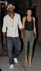 Mehcad Brooks & his Girlfriend, Serinda Swan