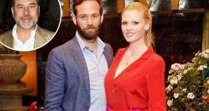 After the divorce with David, Lara Stone is dating with a guy named, David Grievson