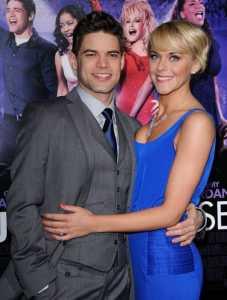 Ashley Spencer with her Husband, Jeremy Jordan