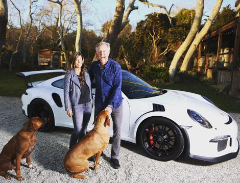 Scott Yancey with her husband & pets