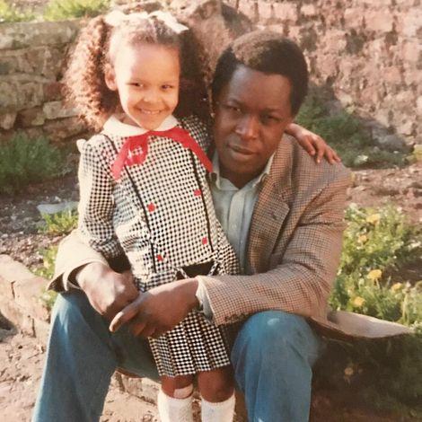 Samantha Mumba's childhood picture
