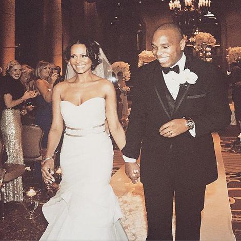 Samantha Mumba' with her husband
