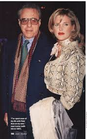Louise Stratten with her ex-husband, Peter Bogdanovich