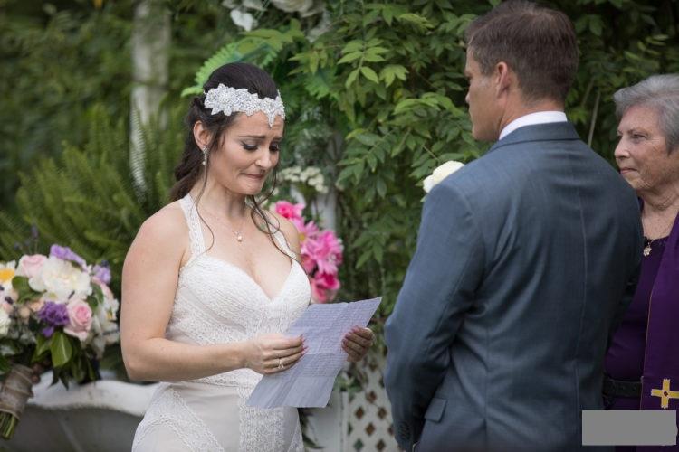 The wedding of Jennifer Wenger and Casper Van Dien