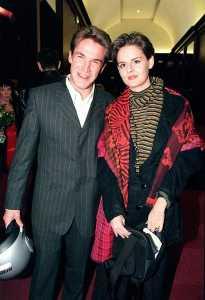 Benjamin Castaldi with his ex-Wife, Valerie Sapienza