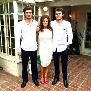 Betsy Russell with her Children