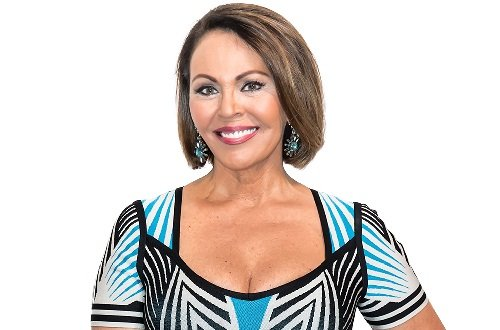 Photo of a journalist María Elena Salinas