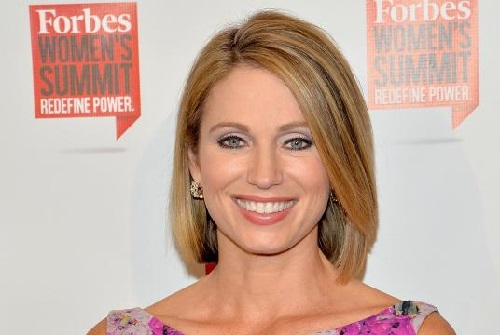 Photo of television presenter Amy Robach