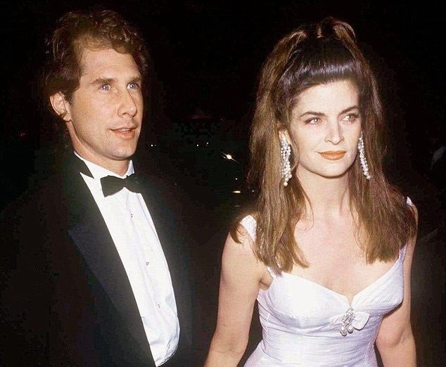 Parker Stevenson and his former spouse Kirstie Alley