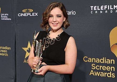 Image of an actress Aislinn Paul
