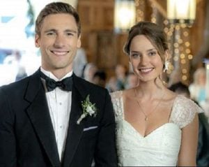 Cassandra Troy on her wedding with her husband, Andrew Walker
