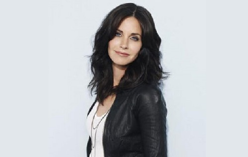 Picture of an actress Courteney Cox