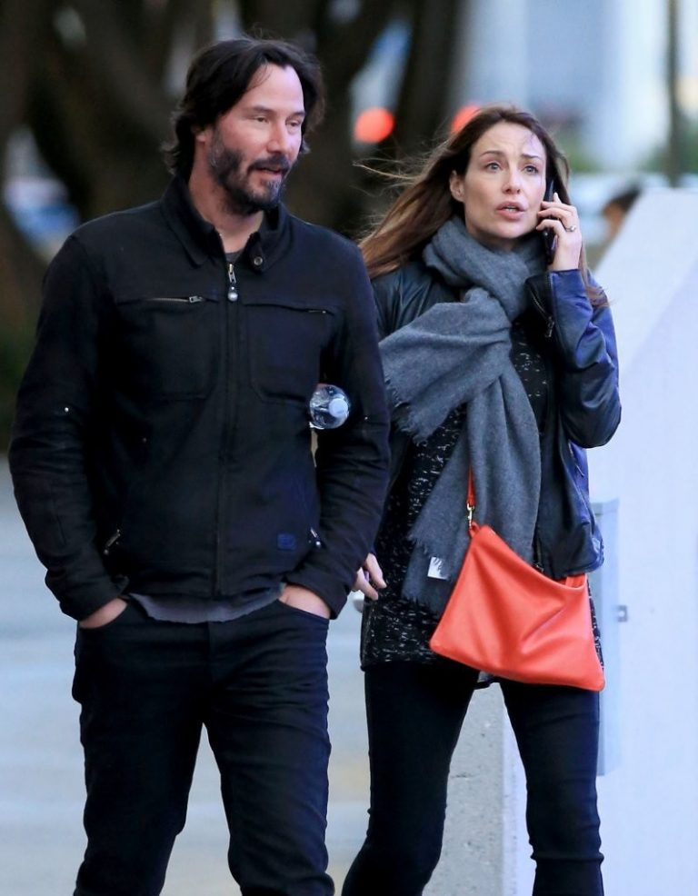 Keanu Reeves and his rumored girlfriend Jamie Clayton picture