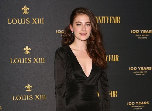 Image of an actress and model Millie Brady