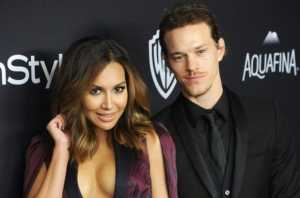 Ryan Dorsey with his former wife, Naya Rivera