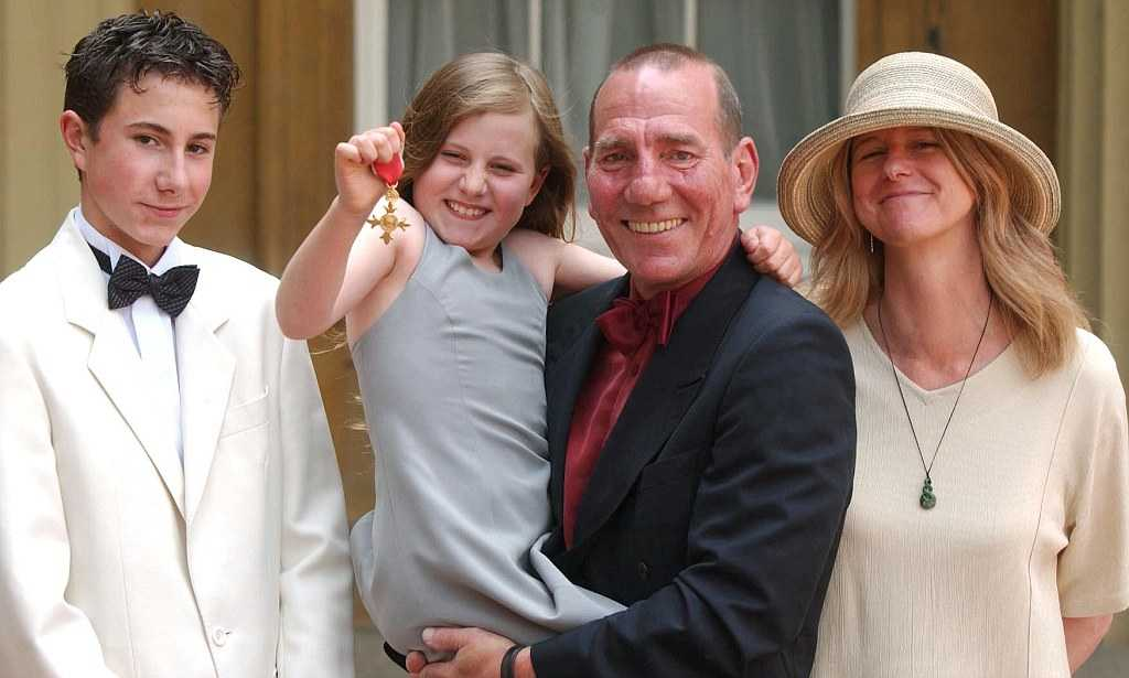 Billy Postlethwaite and his family