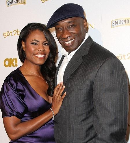 Omarosa Manigault and her late boyfriend Michael Clarke Duncan