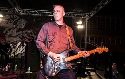 Image of a drummer Joe Haggerty