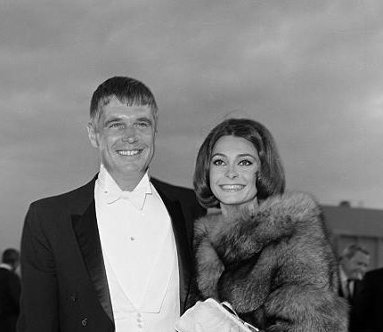 Elizabeth Ashley and her ex-husband George Peppard photo