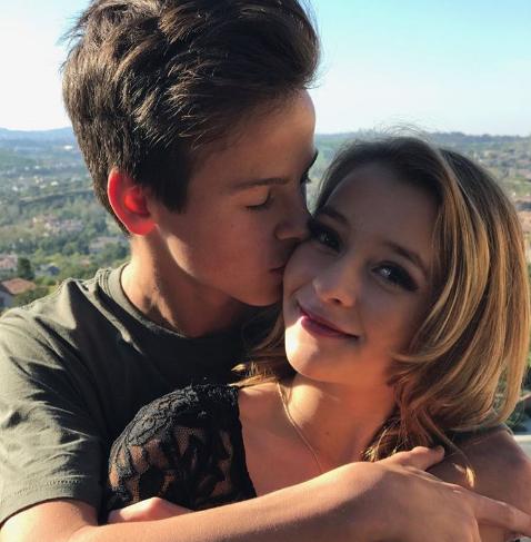 Owen Bodnar and his former girlfriend Danielle Cohn