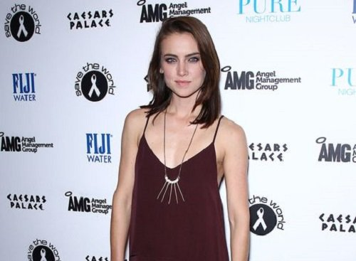 Actress Jessica Stroup image