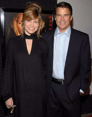 Ted McGinley with his wife, Gigi Rice.