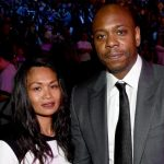 Dave Chappelle and his wife Elaine Chappelle