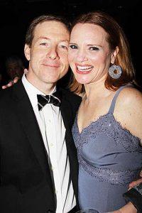 Jennifer Laura Thompson's husband, John.