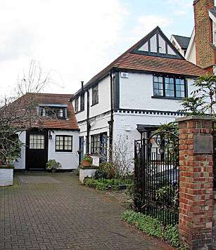 Ali Astall's House in Chiswick, UK