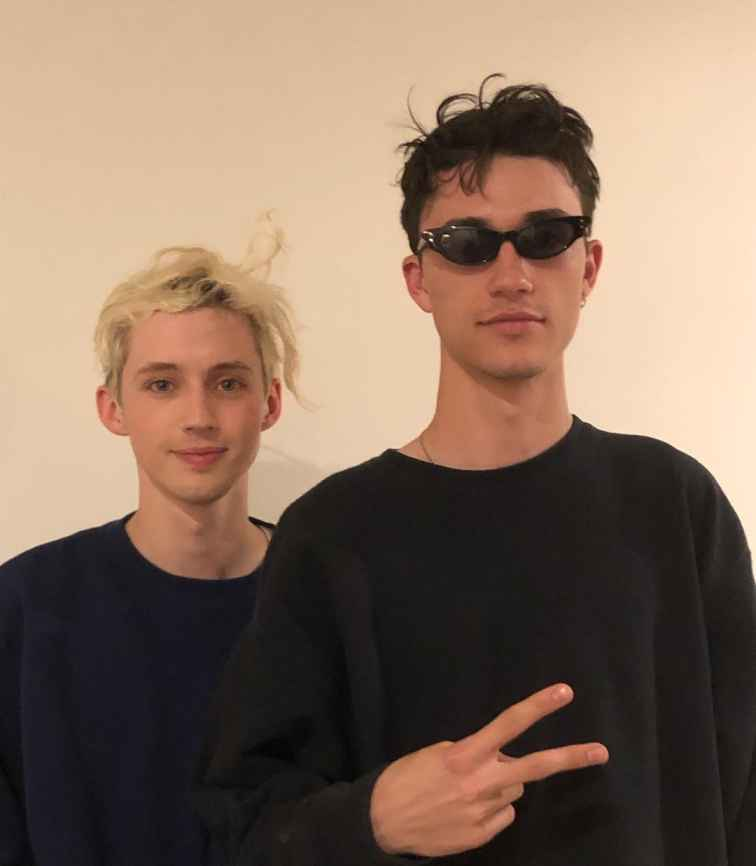 Jacob Bixenman with his gay boyfriend Torny