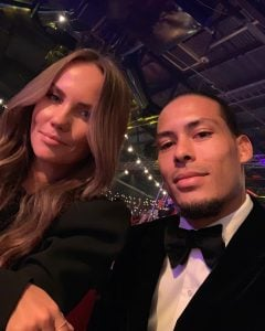 Virgil with his girlfriend