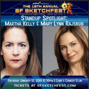 Stand-up comedy Martha Kelly