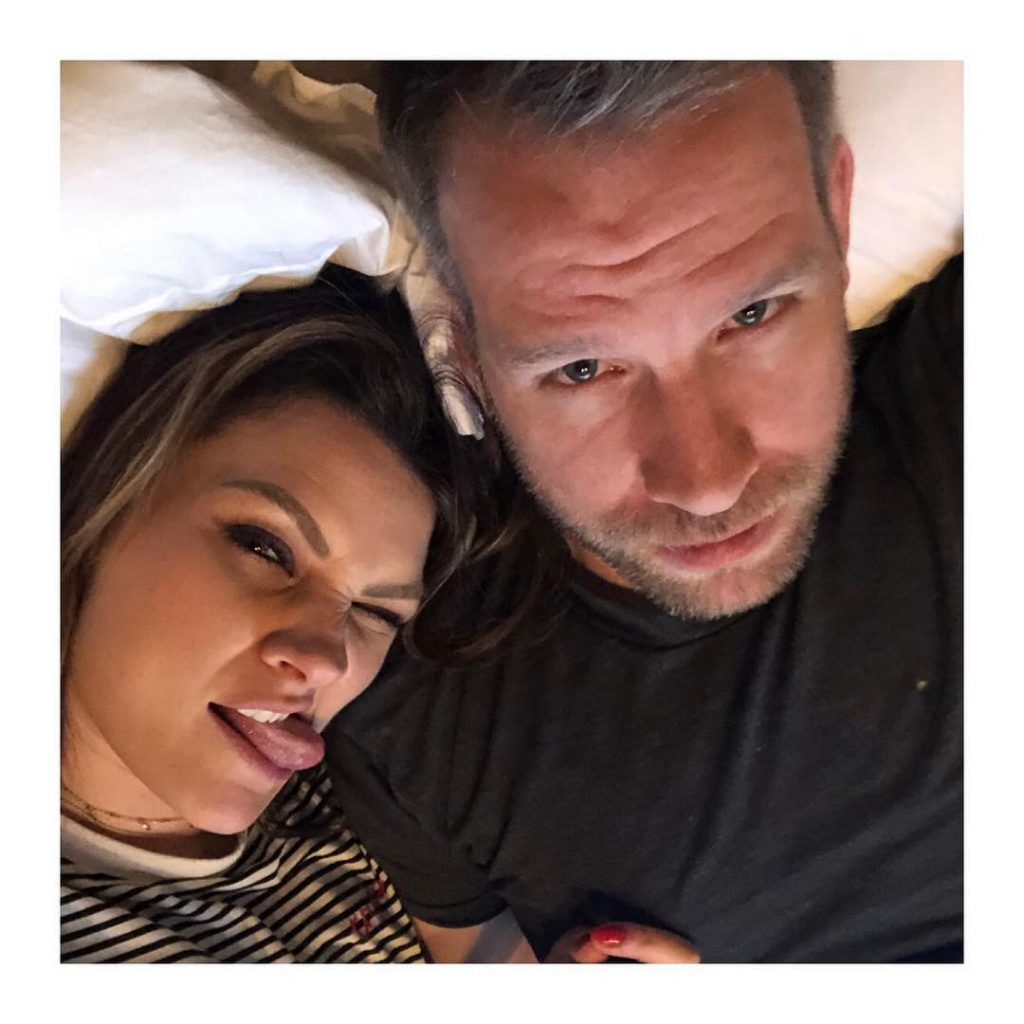 Samantha with her ex-husband Danny