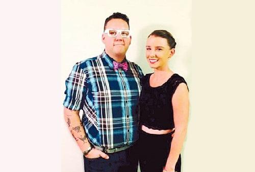 Allie Elliot and her husband Graham Elliota