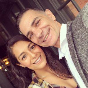 Manpreet with her boyfriend Scott Haran