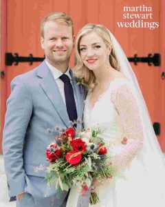 Abby Elliott with Bill Kennedy's wedding ceremony.