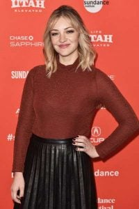 "Abby Elliott attends the ""Clara's Ghost"" Premiere during the 2018 Sundance Film Festival at Park City Library on January 19, 2018 in Park City, Utah."
