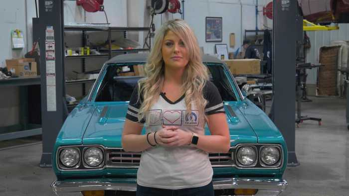 American television personality Allysa Rose From Graveyard Cars