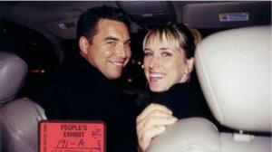 Amber Frey with her ex-boyfriend, Scott Peterson