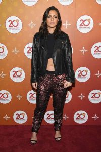 Anabelle Acosta arrived at the 20th Anniversary Ballroom Red Carpet.