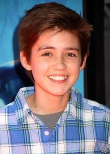 Childhood photo of Preston Bailey.