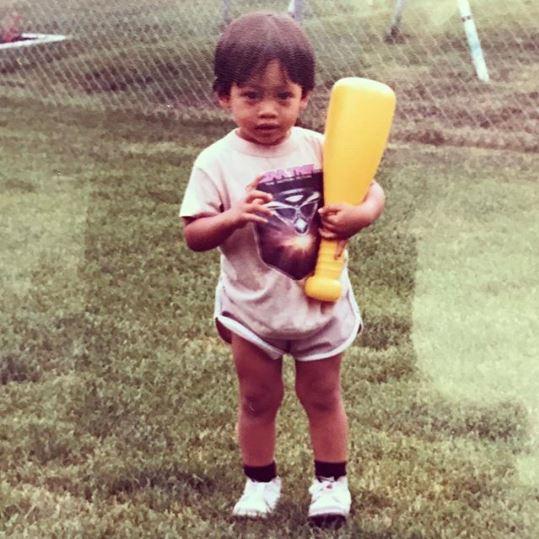 Childhood photo of Eugene Codero.