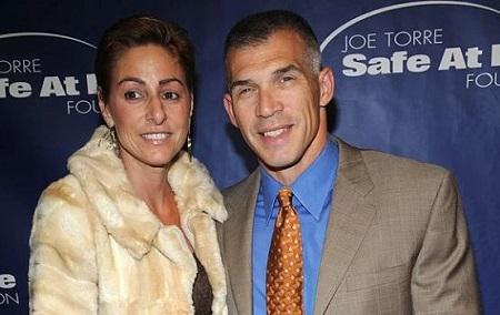 Kimberly Innocenzi and her spouse Joe Girardi