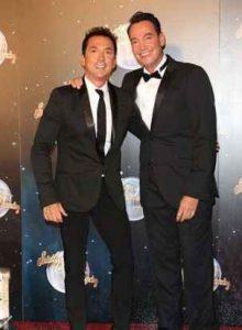 Jason Schanne with his partner Bruno Tonioli