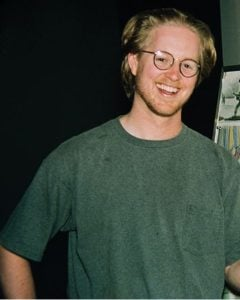 Photo of Andrew Stanton when he was young.