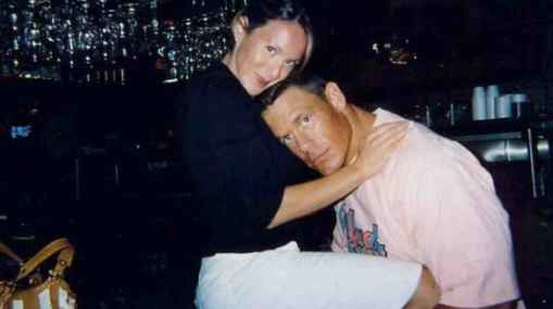 Elizabeth Huberdeau and her former spouse John Cena photo