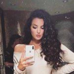 Natalie Halcro, a model, social media star