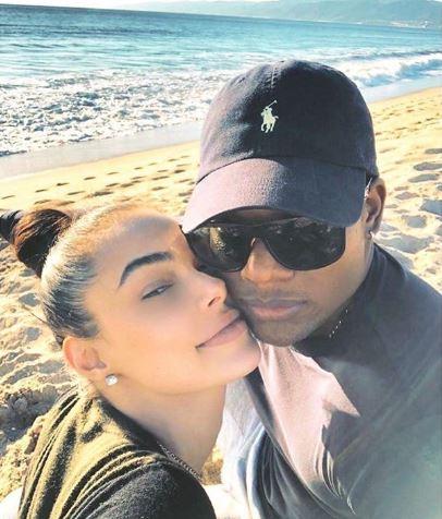 Algenis Perez Soto with his girlfriend, Anabelle Acosta.